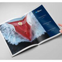 润邦海洋宣传画册 2019版,南通蓝美设计
